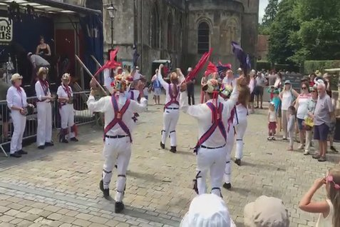 Beggars Fair Morris Dancers